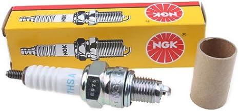 CR7HSA Spark Plug for 50cc 70 cc 90cc 110 cc 125cc 150 cc ATV Dirt Bike Go Kart Scooter Mopeds Pit Bike Dune Buggy Quads 4 Wheelers Roketa Taotao Jonway NGK R
