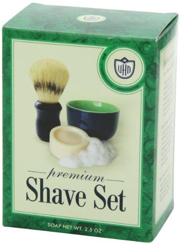 4cc5af524e Amazon.com  Van Der Hagen Premium Shave Set (2.5 oz. Soap