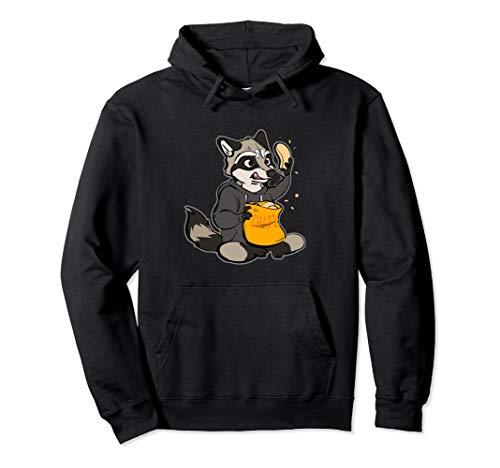 Raccoon Furry Fursona Hoodie Gift Women Men]()