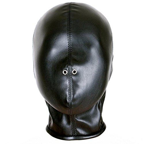 Davidsource-Sealed-Leather-Hood-With-Zipper-Sex-Slave-Pup-Training-BDSM-Restraint-Blinder-Bondage-Sex-Game-Helmet-Fetish-Wear