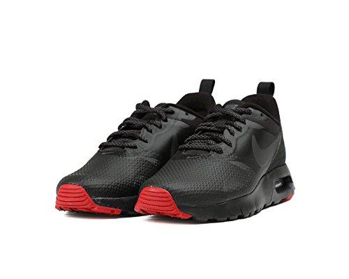 Nike Air Max Tavas Prm Gs Formateurs En Cours Dexécution 858665 Chaussures Baskets Gymnase Anthracite Noir Rouge 006