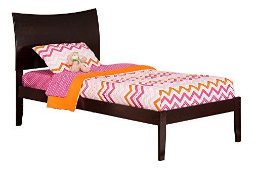 Atlantic Furniture Soho Open Foot Bed, Twin, Espresso - Soho Platform Bed Twin