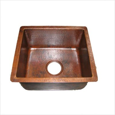 Rectangular Copper Bar Sink - 5