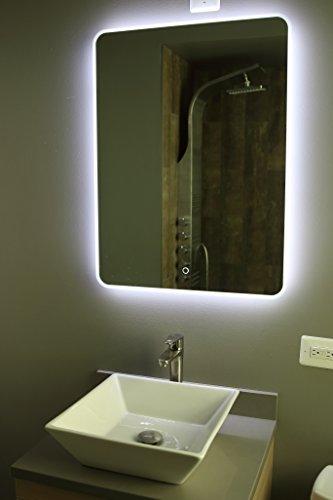 Windbay Backlit Led Light Bathroom Vanity Sink Mirror. Illuminated Mirror. (24