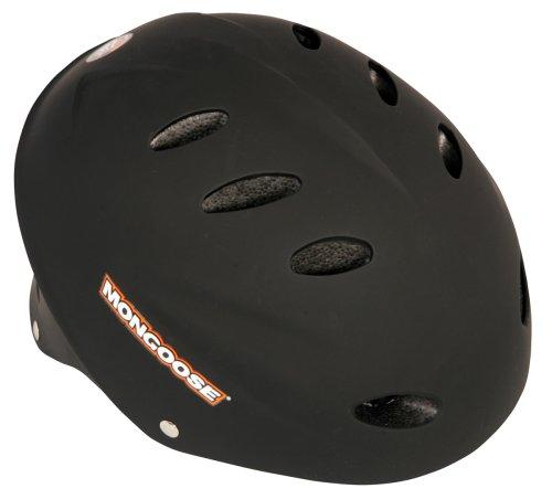 Image of Mongoose Rubberized Hardshell Bicycle Helmet (Youth)
