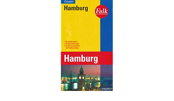 hamburg pocket map by falk