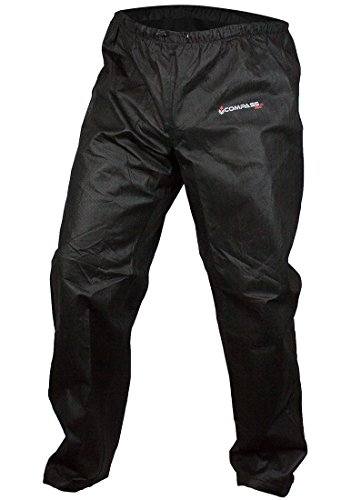 COMPASS 360 Womens AdvantageTEK Waterproof Non-Woven Rain Pants; Black