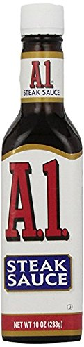 A.1., Steak Sauce, Food Service Only Label, 10 oz. (12 Count)