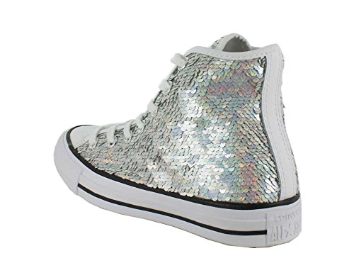 Converse All Star Hi Femme Baskets Mode Metallic