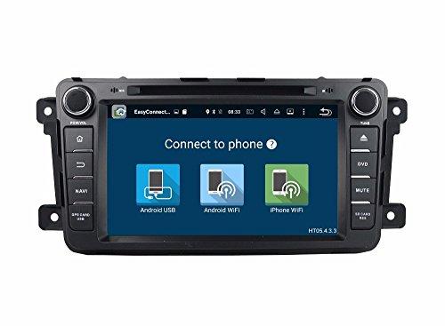 BoCID 2GB RAM Quad Core 2 din 7'' Android 7.1 Car DVD Player for Mazda CX-9 CX 9 With Car Radio GPS WIFI Bluetooth 16GB ROM USB DVR by BoCID (Image #4)