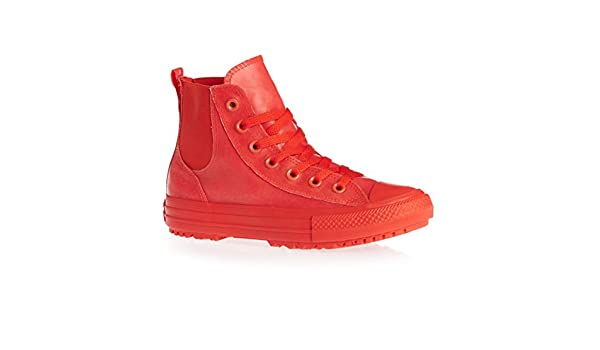 811579dba6c Converse Chuck Taylor All Star Chelsea Boot Rubber Hi Signal Red Signal Red  (Womens) (10 B(M) US)  Amazon.ca  Shoes   Handbags