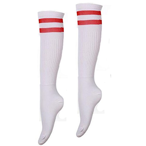Women'S Sports Socks Long Striped Socks Football Soccer