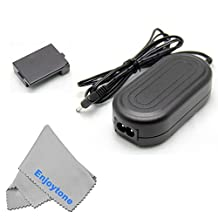 Fomito ACK-E10 7.4V 2A AC Power Adapter Kit For Canon EOS Rebel T3 and T5 1100D 1200D Cameras