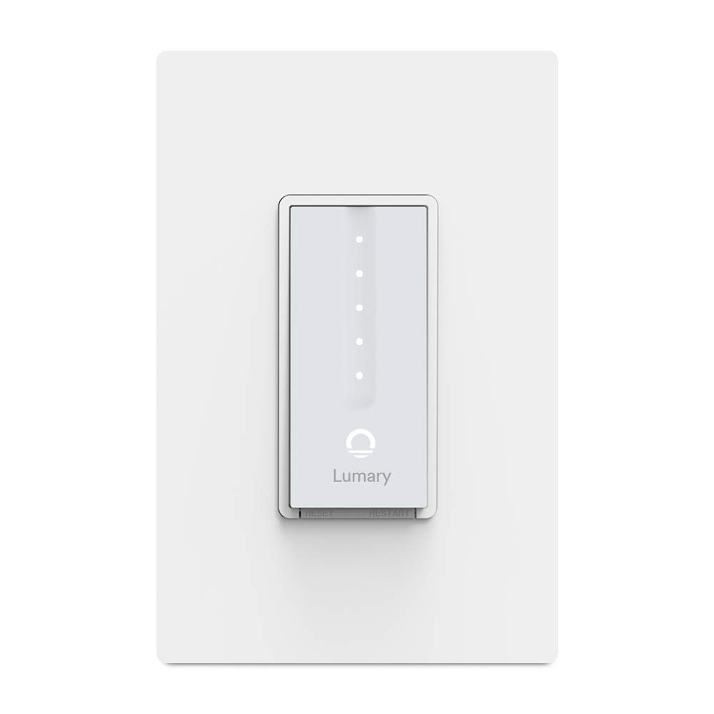 Lumary Smart WiFi Dimmer Light Switch with Touch Controls!