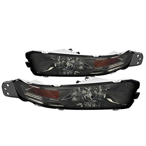 Spec-D Tuning 2LB-MST05G-TM Ford Mustang Gt/Base Euro Style Bumper Lights Smoked