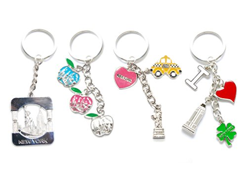 New York NYC NY Keychain Metal - I Love NY, Heart Shaped, for sale  Delivered anywhere in USA