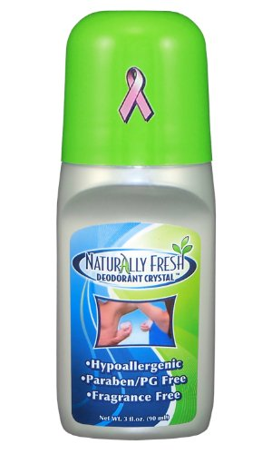 - Naturally Fresh Deodorant Crystal Roll On, Fragrance Free, 3-Ounce Bottles (Pack of 6)