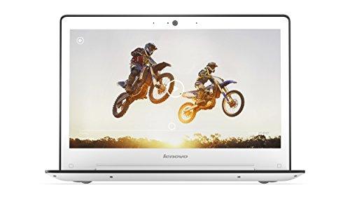 Lenovo U31-70 33,8 cm (13,3 Zoll Full HD IPS Matt) Ultrabook (Intel Core i7-5500U, 3GHz, 8GB RAM, 256GB SSD, NVIDIA GeForce 920M 2GB, Windows 8.1) weiß