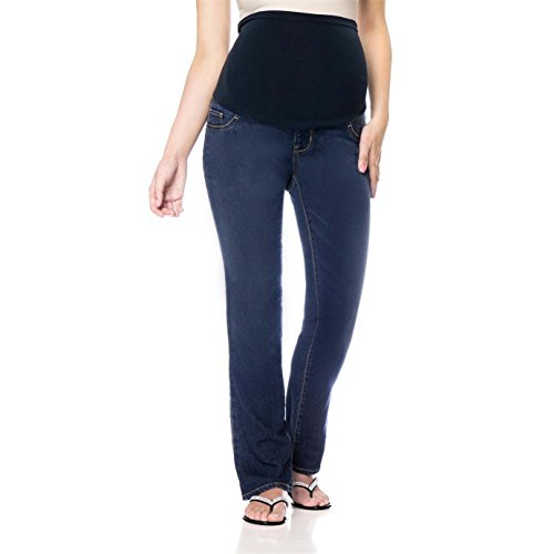 Full Panel Bootcut Jean (LizLang Maternity High Rise Bootcut Jeans For Women Pregnancy Stretch Pants With Full Panel Cute & Sexy)