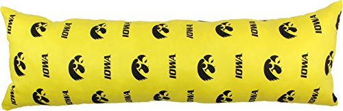 College Covers Iowa Hawkeyes Printed Body Pillow, 20
