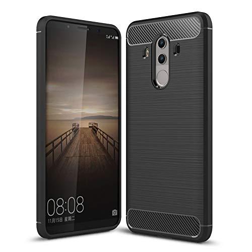 Huawei Mate 10 pro case, KuGi [Scratch Resistant] Premium Flexible Soft TPU Case for Huawei Mate 10 pro Smartphone(Black)