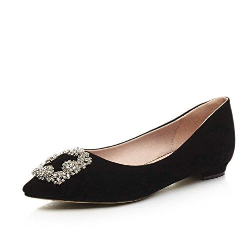 Zapatos de moda/zapatos bajo acentuados poco profundos/Joker dulce Coreano establece el pie zapatos B