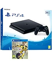 سوني بلاي ستيشن 4 سليم 500 جيجابايت مع لعبة فيفا 17 (PS4)
