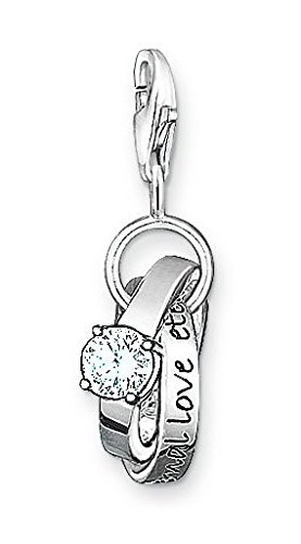 Thomas Sabo Thomas Sabo Charm pendant wedding rings white 0673-051-14