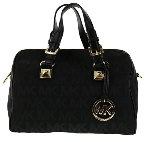 michael-michael-kors-monogram-jacquard-grayson-medium-satchel-black
