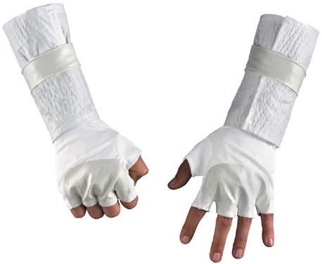 [G.I. Joe Storm Shadow Deluxe Gloves Child] (Joe Child Costumes Gloves)