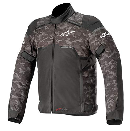 - Alpinestars Hyper DRYSTAR All-Weather Sport Motorcycle Riding Jacket (X-Large, Black/Camo Red)