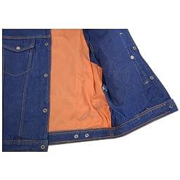 Mens Blue Denim Jean Vest 3XL