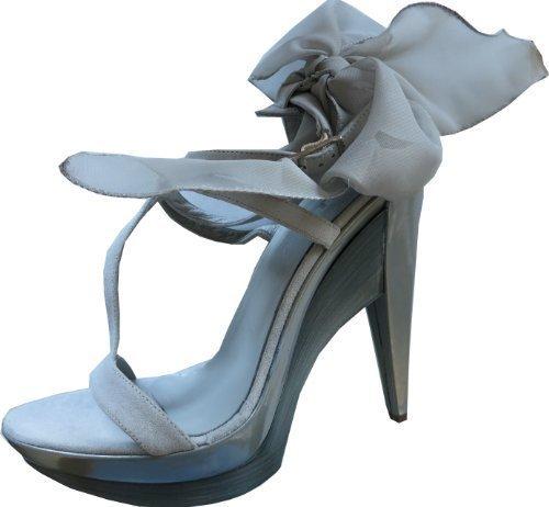 CHILLANY Sandalette - Sandalias de Vestir Mujer gris - Gris - Gris