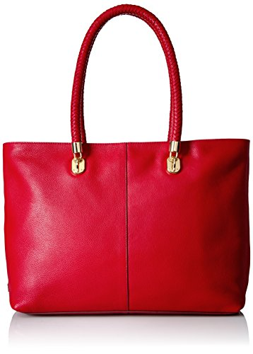 Cole Haan Top Zip Satchel - Cole Haan Benson Large Top Zip Tote, Gojiberry
