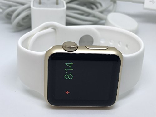 b27ca99e5 Apple Watch Series 1 38mm Smartwatch (Gold Aluminum Case