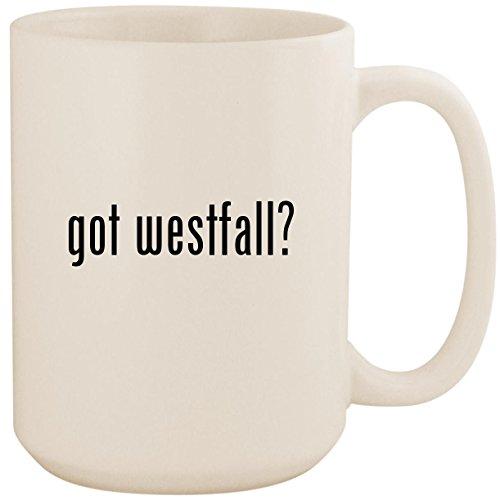 (got westfall? - White 15oz Ceramic Coffee Mug Cup)