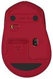 Logitech Wireless Mouse M320, Red
