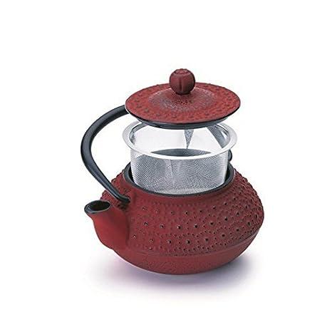 Ibili Hanoi Tetera, 0.3 litros, Rojo