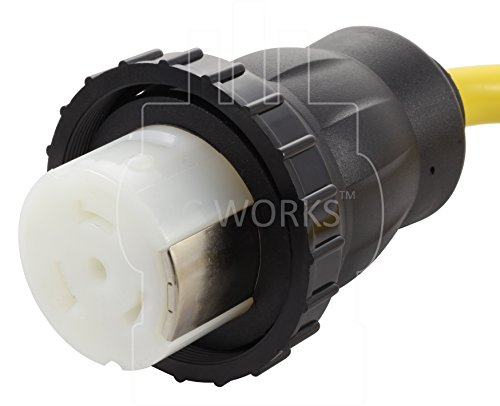 AC WORKS 50Amp RV Marine Detachable Adapter (5-15P Household 15A Plug-Flexible) by AC WORKS (Image #3)
