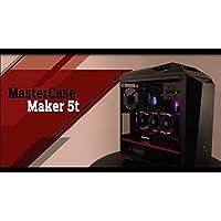 Mastercase Maker 5t - X299 AORUS Gaming 7 - LIQUID COOLED Intel Core i9-7900 X 3.3GHz/Nvidia GeForce GTX 1080 TI 11GB GDDR5X/4TB 7200RPM + 500GB SSD/32GB DDR4/1000W/Windows 10 Custom Gaming Desktop