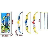 Kids Bow And Arrow Set Practice Basic Archery Set Creative Suction Cup Arrow Outdoor Toy Arrow Party Favors