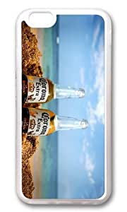 MOKSHOP Unique corona extra beer Soft Case Protective Shell Cell Phone Cover For Apple Iphone 6 (4.7 Inch) - TPU Transparent