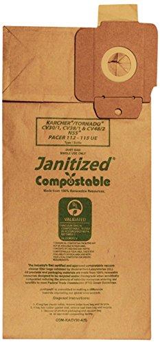 Janitized COM-KACV30-4(5) Compostable Paper Premium Repla...