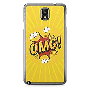 OMG Samsung Note 3 Transparent Edge Case - Comic Collection