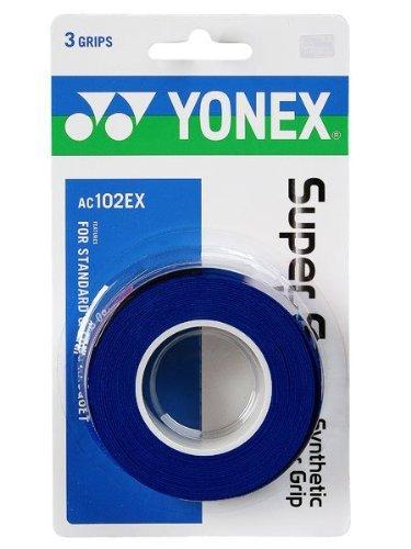 Yonex Super Grap Overgrip - 3 pack in Blue