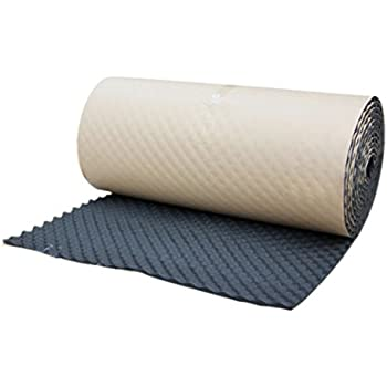 HOUTBY Silent Sound Absorber 20mm Acoustic Foam 2 Sheets Deadening Proofing 50cm X 50cm