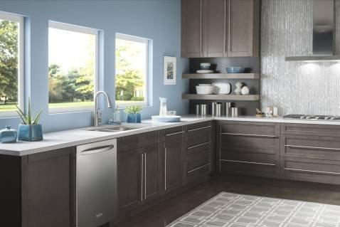 Moen 87359E2SRS Delaney Motion Sense One-Handle High Arc Pulldown Kitchen Faucet Spot Resist Stainless