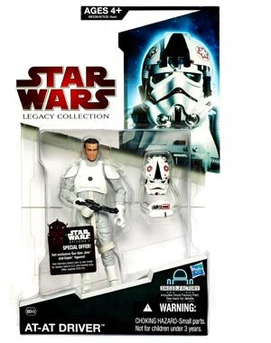 Star Wars 2009 Legacy Collection BuildADroid Action Figure BD No. 49 ATAT Driver Random Helmet - Atat Driver