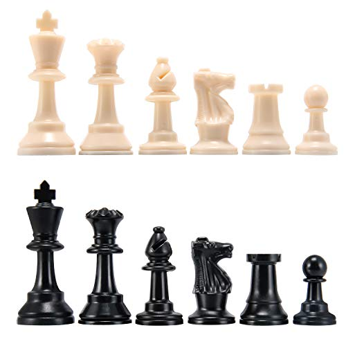 Amerous Chess Pieces, Chessmen with 3.75