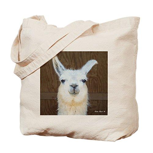 CafePress–Llama–Gamuza de bolsa de lona bolsa, bolsa de la compra